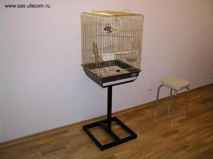 Подставка для клетки попугая своими руками фото