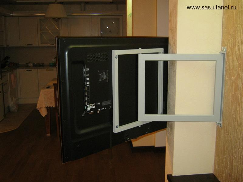 Телевизор на стену своими руками